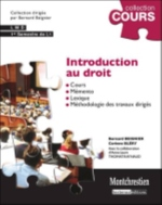 INTRODUCTION AU DROIT - 4EME EDITION